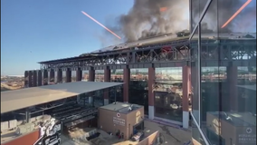 Officials: Welding sparks caused fire at Globe Life Field