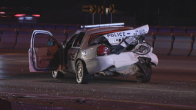 Suspected drunken driver hits officer in Dallas construction zone