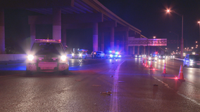 Bicyclist killed while trying to cross I-35 in northwest Dallas