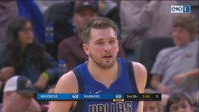 Doncic has triple-double, Mavericks rout Warriors 141-121