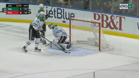 Acciari has second straight hat trick, Panthers beat Stars