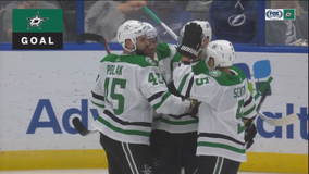 Seguin scores in OT, Stars beat Lightning 4-3