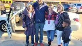Fort Worth elementary teachers give student's struggling family a car