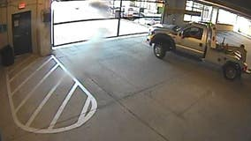 Thieves use tow truck to steal vehicle from Downtown Dallas parking garage