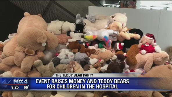 Teddy Bear Party toy drive helps families in need of holiday cheer