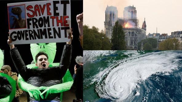Hurricane Dorian, Notre Dame, Area 51: 2019 through the lens of Google trends