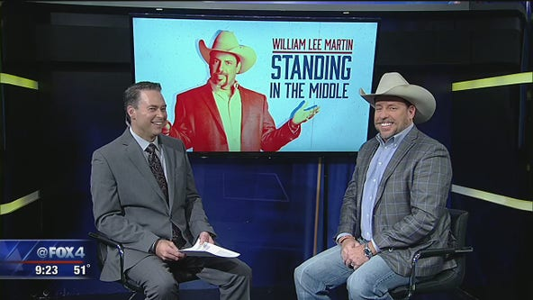 William Lee Martin returns to North Texas for a weekend comedy show