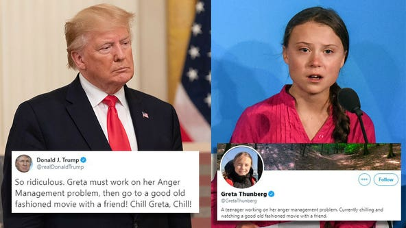 Greta Thunberg changes Twitter bio in response to Trump calling her TIME cover honor 'ridiculous'