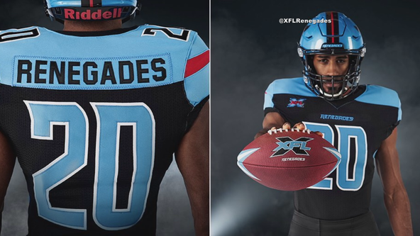 Uniforms for Dallas Renegades opening season unveiled