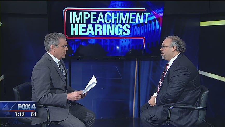 Law professor discusses Trump impeachment hearings