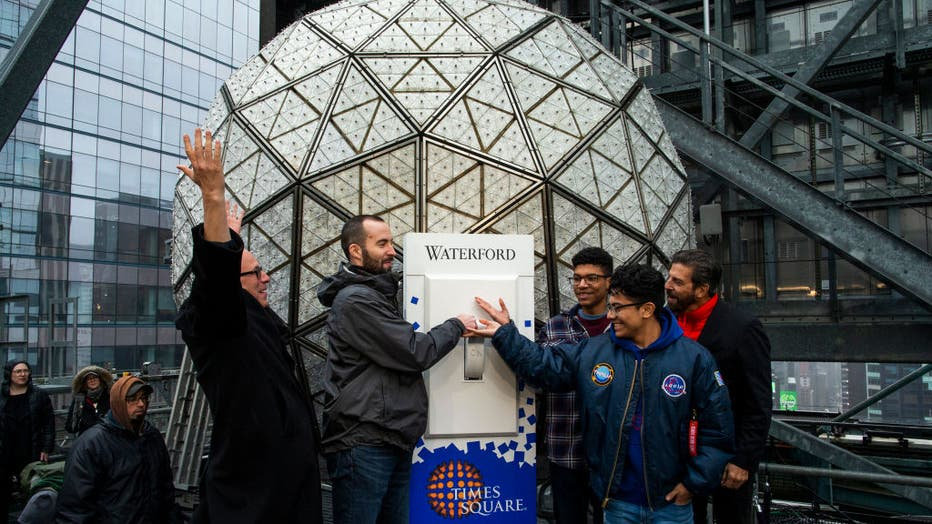 Times Square New Year's Eve Ball Tested Ahead Of Annual Ball Drop