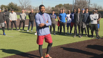 Elvis Andrus donates baseball, softball equipment to Thomas Jefferson H.S. teams