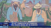 Fort Worth Art Commission votes to leave Will Rogers mural intact, add historical context