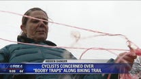 Cyclists warning others about booby traps found on Dallas trail