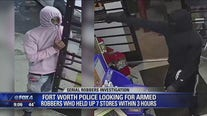Fort Worth police looking for men accused of 7 robberies in 3 hours