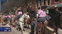 All-Western Parade held to mark the start of the Fort Worth Stock Show and Rodeo