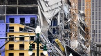Body of person killed in New Orleans Hard Rock Hotel collapse left exposed