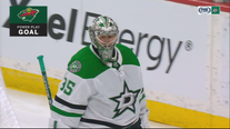 Stalock shuts out Stars, Wild win 7-0