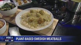 Plant-Based Swedish Meatballs & Gravy