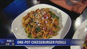One-Pot Cheeseburger Fusilli