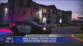 Denton police fatally shoot man armed with frying pan and knife