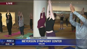 Dallas Symphony Orchestra offers free yoga classes