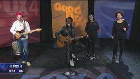 Black Pumas perform on Good Day before sold out shows