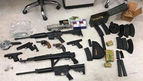Balch Springs police seize firearms, drugs following reports of celebratory gunfire