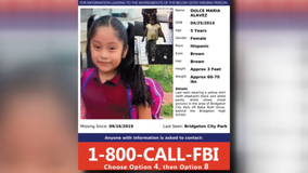 The search for Dulce Maria Alavez continues, nearly 4 months since her disappearance