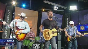 Texas country band Left Arm Tan performs on Good Day