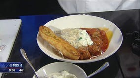 Spaghetti and Meatballs with Truffle Cream Sauce