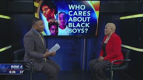 Author discusses challenges for young black males