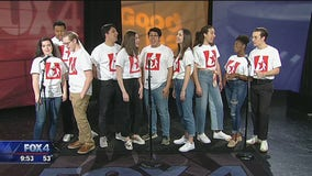 Junior Players perform live on Good Day