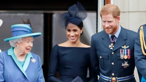 Queen leading meeting Monday on Harry and Meghan's plans to walk away from royal responsibilities