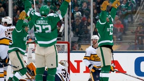 Stars rally to beat Preds 4-2 in Winter Classic at Cotton Bowl