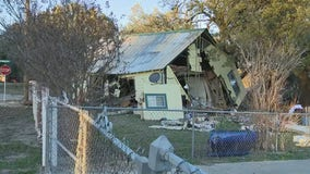 Parker County couple injured after woman crashes into home