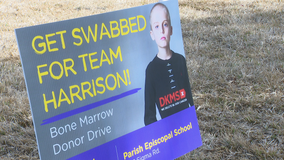 Screening held in Dallas to help find donor for 9-year-old in need of bone marrow transplant