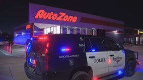 Two suspects detained after teen shot at Fort Worth AutoZone