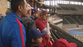 Rangers hold 'Peek at the Park' event at Globe Life Field