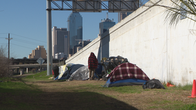Dallas organizations team up with the city to secure hotel rooms for homeless people during cold weather