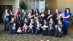 'Babies are our business': 19 NICU staff members at Nebraska hospital give birth to 19 babies in 2019