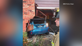 DWI suspect crashes into North Richland Hills apartment