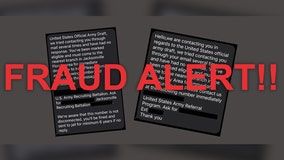 US Army warns of fake 'draft' texts being sent to Americans for 'immediate departure' to Iran