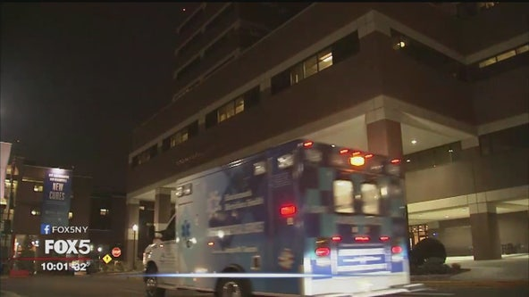 Woman hospitalized in New Jersey with coronavirus symptoms