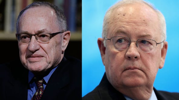 Trump impeachment defense team to include Dershowitz, Starr