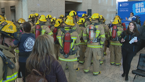 More than 1,000 people take part in Big Climb Dallas to support blood cancer research