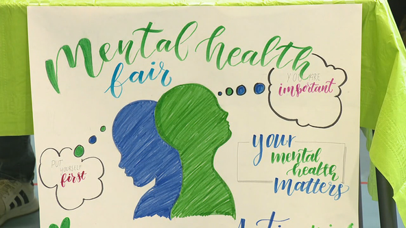 Dallas students host mental health fair to help classmates