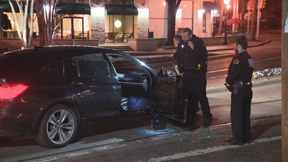 Woman seriously injured in Downtown Dallas drive-by shooting