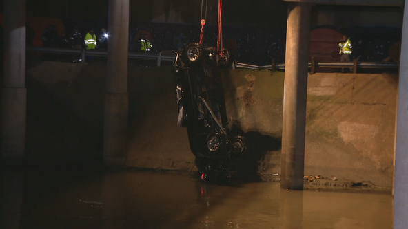2 men found dead after truck is pulled from Trinity River