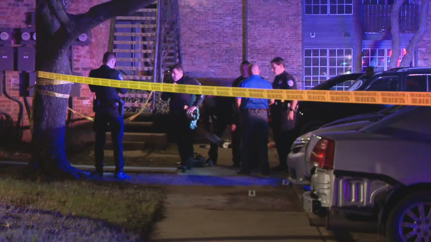 1 killed in domestic shooting in Richardson